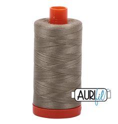 Aurifil 2900 - Light Kahky Green 50 wt available in Canada at The Quilt Store