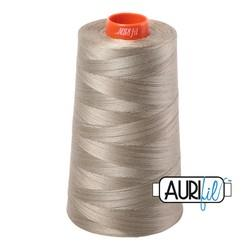 Aurifil Thread Cone Light Kakhy available in Canada at The Quilt Store