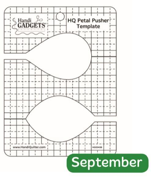 Handi Quilter Petal Pusher available in Canada at The Quilt Store
