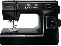 Janome HD-3000 Black Edition avaialble at The Quilt Store