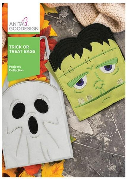 Anita Goodesign Trick or Treat Bags available in Canada at The Quilt Store