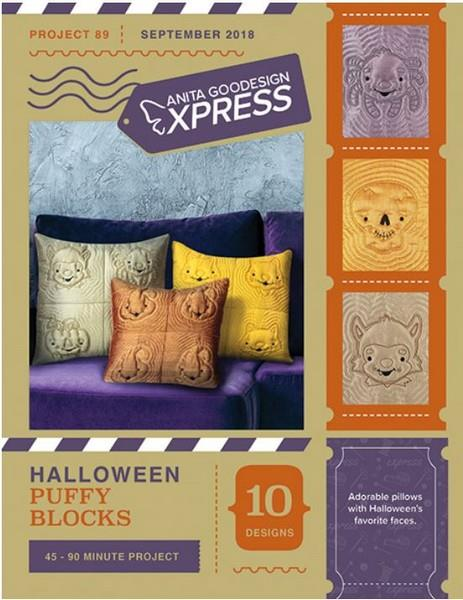 Anita Express Halloween Puffy Blocks available in Canada at The Quilt Store