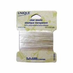 Unique Clear Elastic 6mm x 5m