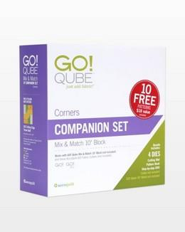 "Accuquilt GO! Qube 10"" Companion Corners Set available in Canada at The Quilt Store"