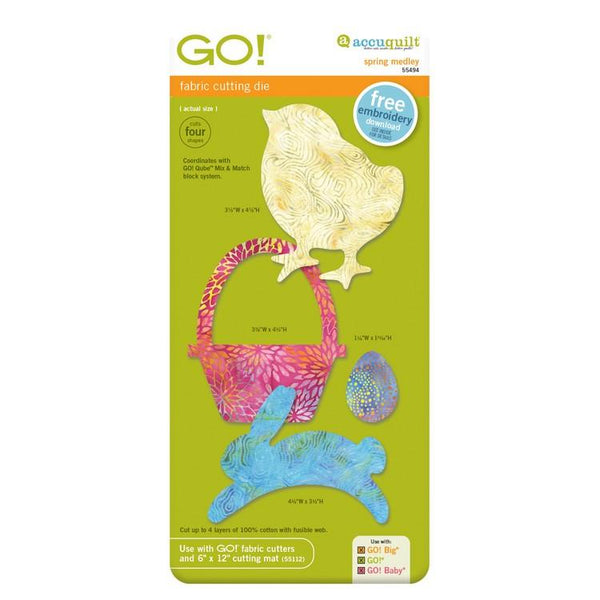 GO! Spring Medley available in Canada at The Quilt Store