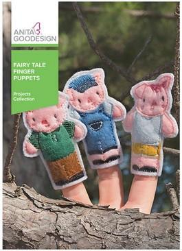 Anita Goodesign Fairy Tale Finger Puppets available in Canada at The Quilt Store