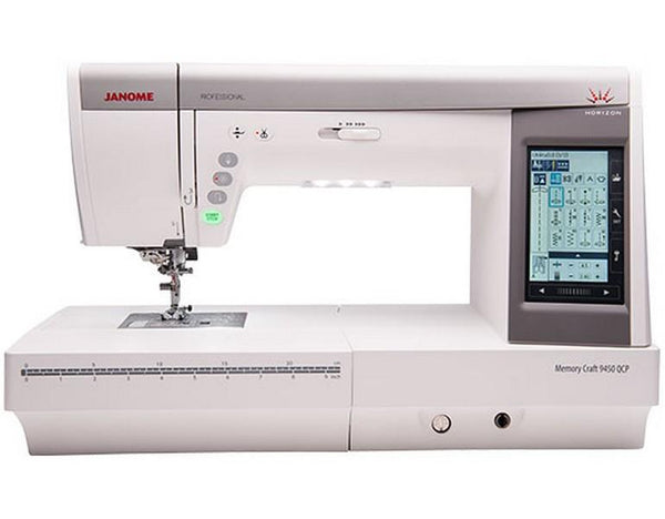 Janome MC9450QCP available in Canada at The Quilt Store