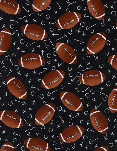 Timeless Treasures Football available in Canada at The Quilt Store