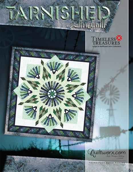 Tarnished Windmill by Judy Niemeyer available in Canada at The Quilt Store