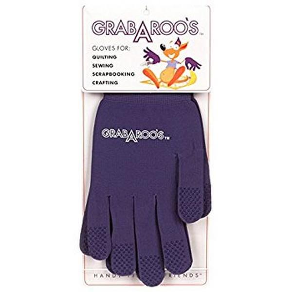 Grabaroo's Quilting Gloves available in Canada at The Quilt Store