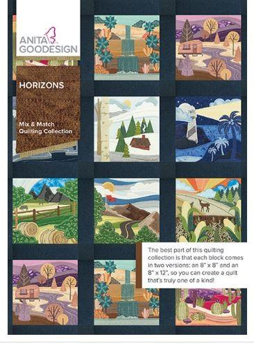 Anita Goodesign Horizons Mix & Match Quilting Collection at The Quilt Store