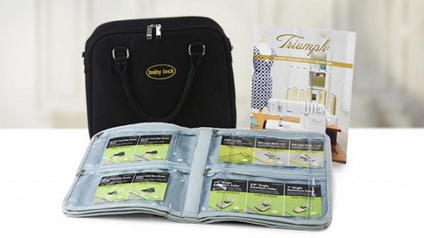 Baby Lock Triumph Foot Kit available at The Quilt Store in Canada