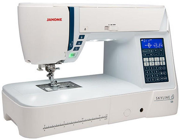 Janome Skyline S6 available in Canada at The Quilt Store