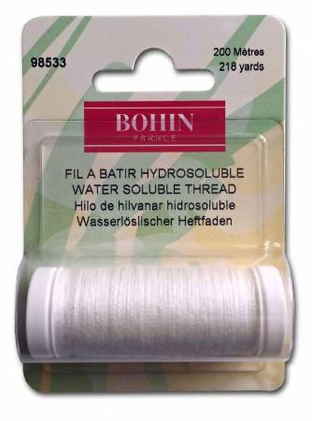 Bohn Water Soluble Thread available in Canada at The Quilt Store