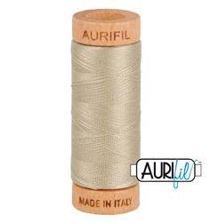 Aurifil 2324 Stone 80 wt available in Canada at The Quilt Store