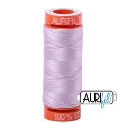 Aurifil 2510 Light Lilac 50 wt 200m available in Canada at The Quilt Store
