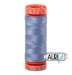 Aurifil 6720 slate 50 wt 200m available in Canada at The Quilt Store