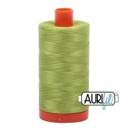 Aurifil 1231 Spring Green 50 wt available in Canada at The Quilt Store