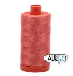 Aurifil 2225 - Salmon 50 wt available at The Quilt Store
