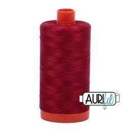 Aurifil 2260 Red Wine 50 wt available in Canada at The Quilt Store