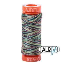 Aurifil 3817 Marrakesh 50 wt 200m available in Canada at The Quilt Store