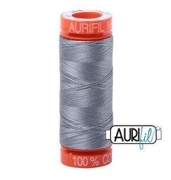 Aurifil 2610 Light Blue Grey 50 wt 200m available in Canada at The Quilt Store