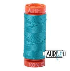 Aurifil 2810 Turquoise 50 wt 200m available in Canada at The Quilt Store