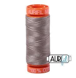 Aurifil 6730 Steampunk 50 wt 200m available in Canada at The Quilt Store
