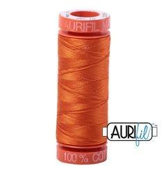 Aurifil 2235 Orange 50 wt 200m available in Canada at The Quilt Store