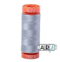 Aurifil 2612 Artic Sky 50 wt 200m available in Canada at The Quilt Store