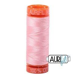 Aurifil 2415 Blush 50 wt 200m available in Canada at The Quilt Store