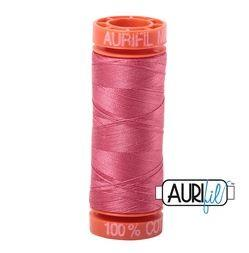 Aurifil 2440 Peony 50 wt 200m available in Canada at The Quilt Store