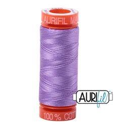 Aurifil 2520 Violet 50 wt 200m available in Canada at The Quilt Store