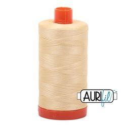 Aurifil 2105 Champagne 50 wt available in Canada at The Quilt Store
