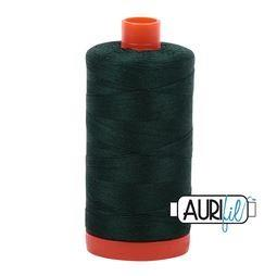 Aurifil 4026 Forest Green 50 wt available in Canada at The Quilt Store