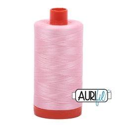Aurifil 2423 Baby Pink 50 wt available in Canada at The Quilt Store