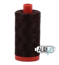 Aurifil 5024 - Dark Brown 50 wt available in Canada at The Quilt Store