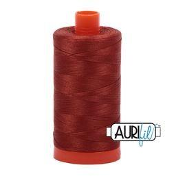 Aurifil 2350 Copper 50 wt available in Canada at The Quilt Store
