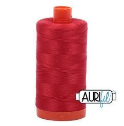 Aurifil 2265 - Lobster Red 50 wt available in Canada at The Quilt Store