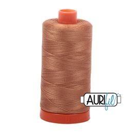 Aurifil 2335 Light Cinnamon 50 wt available in Canada at The Quilt Store