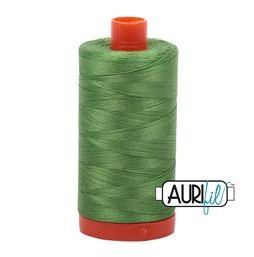 Aurifil 1114 Green Grass 50 wt available in Canada at The Quilt Store