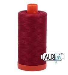 Aurifil 1103 Burgundy 50 wt available in Canada at The Quilt Store