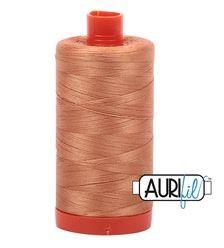 Aurifil 2210 Carmel 50 wt available in Canada at The Quilt Store
