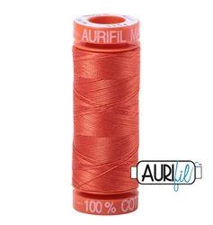 Aurifil 1154 Dusty Orange 50 wt 200m available in Canada at The Quilt Store