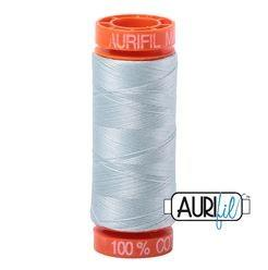 Aurifil 5007 Light Grey Blue 50 wt 200m available in Canada at The Quilt Store