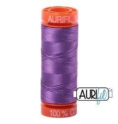 Aurifil 2540 Medium Lavender 50 wt 200m available at The Quilt Store