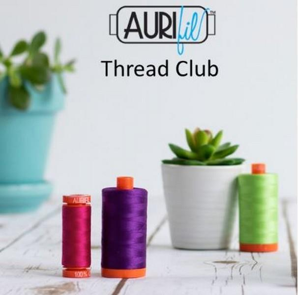 Aurifil Thread Club available at The Quilt Store
