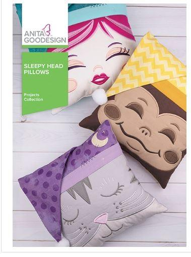 Anita Goodesign Sleepy Head Pillows