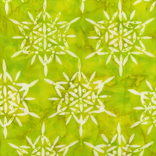 Anthology Fabrics Batik in Lime Green available at The Quilt Store