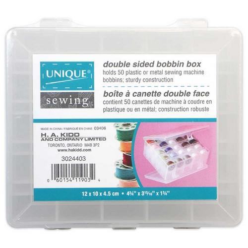 Unique Bobbin Storage box available at The Quilt Store in Canada